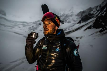 REKORD: Andrzej Bargiel har slått den nye fjellrekorden.