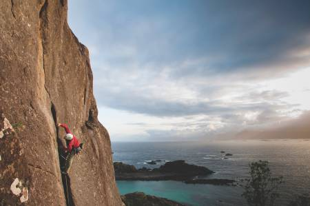 Lofoten klatring