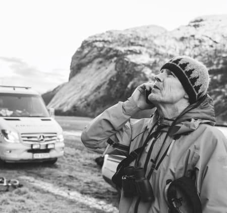 Norsk Fjellredning fra innsiden