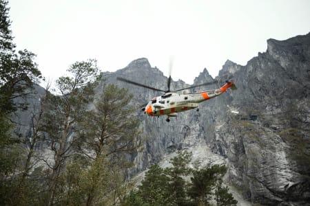 FRIVILLIG: Alle medlemmene i de norske alpine redningsgruppene gjør jobben uten å få betaling – motivert av at en dag kan det være de selv som trenger hjelp. Foto: Kristin Imingen Hansen