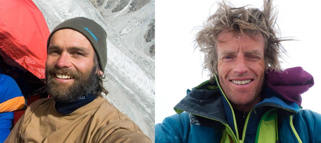 OMKOM: De svært erfarne og dyktige klatrerne Stein-Ivar Gravdal (til venstre) og Bjørn-Eivind Årtun omkom i ulykken på Kjerag denne uka. Foto: Privat