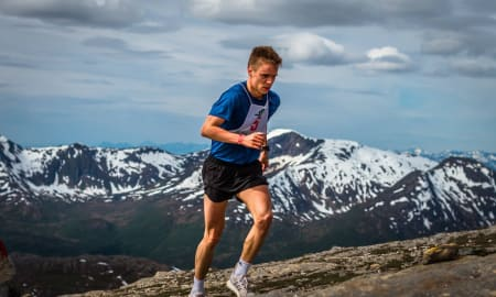 Fjorårsvinner Erik Lomås. Foto: Ben Frode Andersen