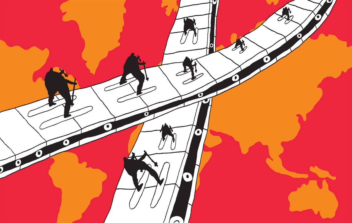 BÅND: Ja til bånd i skianlegg. Illustrasjon: FF