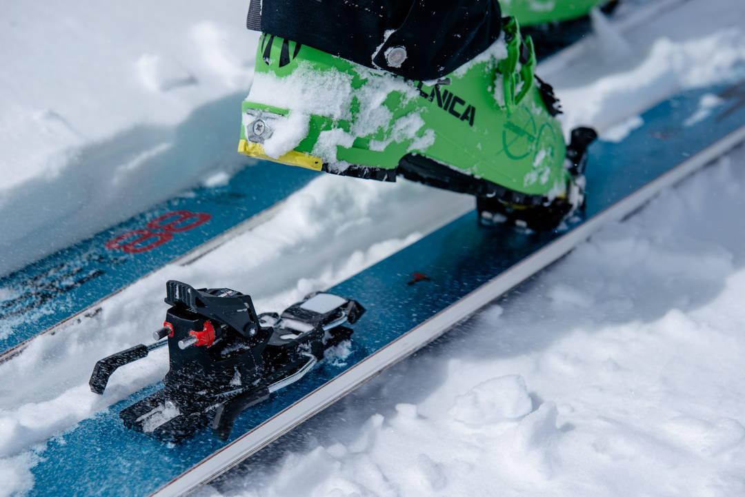 RISIKO Får personer med skibindinger som ikke løser seg ut flere legbrudd? Foto: Martin I. Dalen