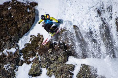 BESTE NOENSINNE? Sam Smoothy høstet velfortjent skryt etter innsatsen sin in Andorra i vinter. Men er det tidenes beste konkurranse-run, slik mange mener? Foto: David Carlier