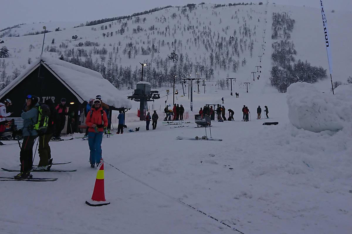 Nederst i Sogndal skisenter