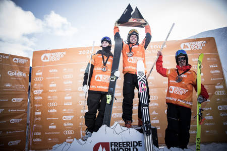 DOBBELT SVENSK: Kristofer Turdell og Carl Regnér Eriksson tok de to beste plasseringene under helgens FWT-runde i Canada. Foto: Dom Daher