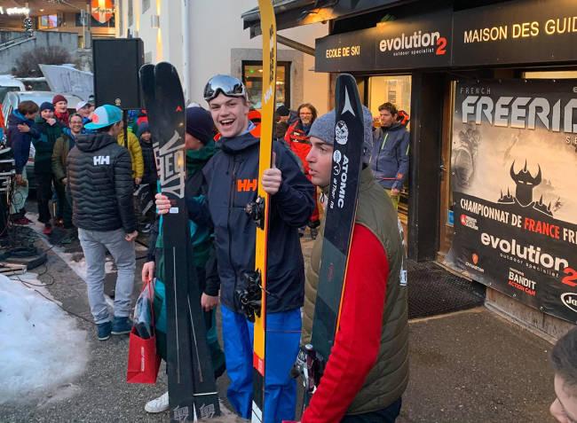 Se Erland Skogum vinne VM-generalprøven