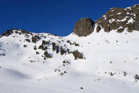 Fjellside i Andorra