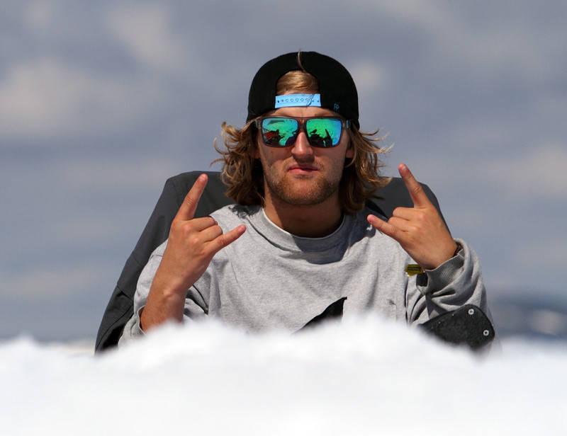 GLOVARM: Aleksander Aurdal er kjempefornøyd med finaleplass i JOI.