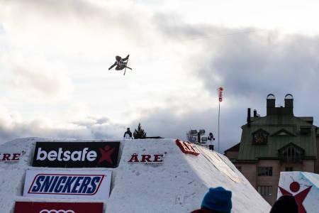 ALEKS VIDERE: Aleksander Aurdal (bildet) og Øystein Bråten er videre til semifinale i Åre. Foto: Andreas Løve Storm Fausko