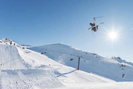 OL-KLAR: Ferdinand Dahl fra Oslo er tatt ut til Vinter-OL. Foto: Luke Ocho Allen/ Nor Freeski