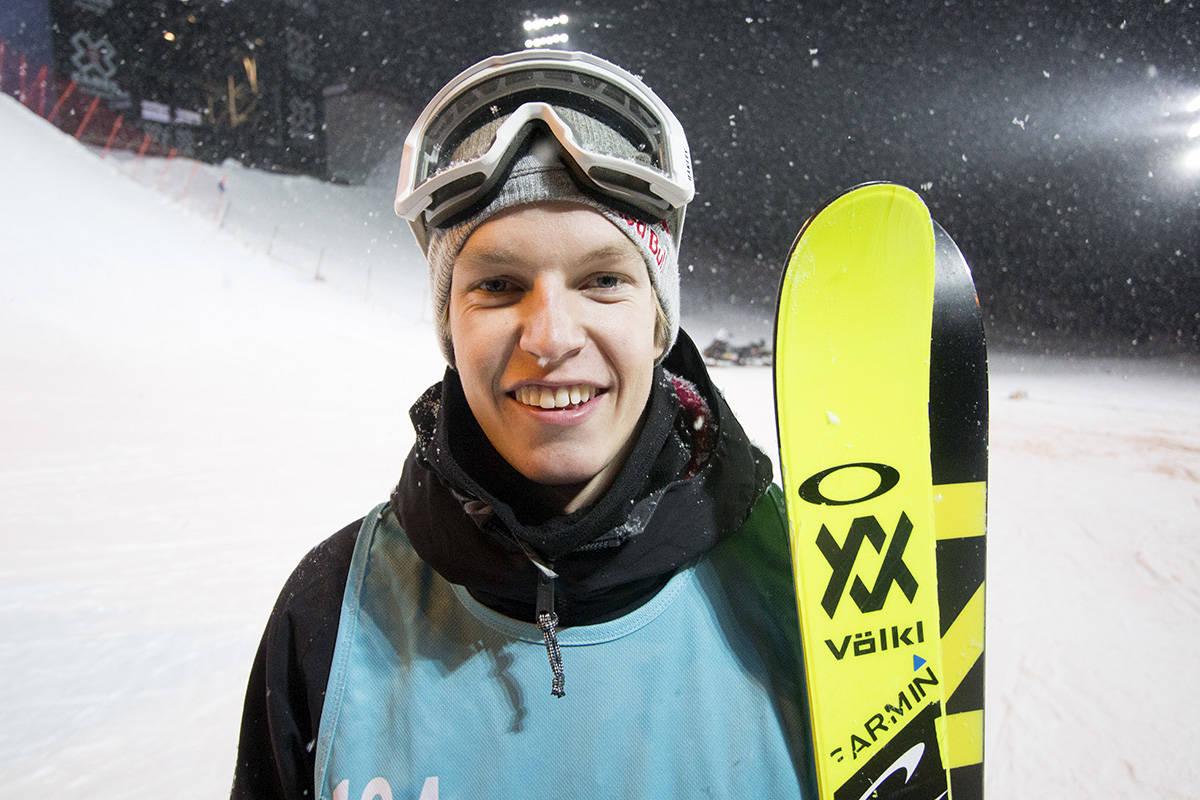 TIL FINALE: Øystein Bråten tok seg til finale i slopestyle. Foto: Anders Holtet