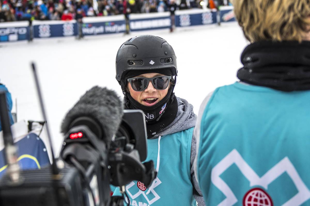 OVERRASKET: Eirik Sæterøy var best av alle under kvalifiseringen fredag. Foto: Olav Standal Tangen