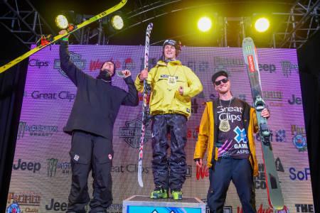 BEST AV ALLE: Birk Ruud vant X Games big air i Aspen! Foto: Eric Lars Bakke