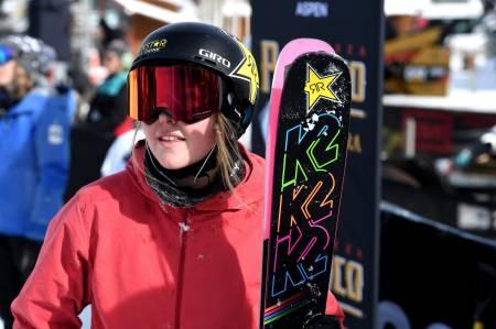 UTENFOR PALLEN: Johanne Killi måtte ta til takke den kjedelige fjerdeplassen under dagens finale i slopestyle. Foto: X Games