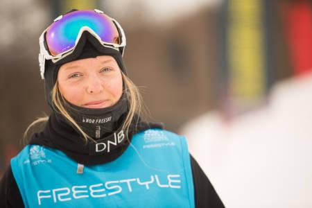 SKUFFET: Johanne Killi er klar for X Games i Oslo. Foto: Christopher Frankum