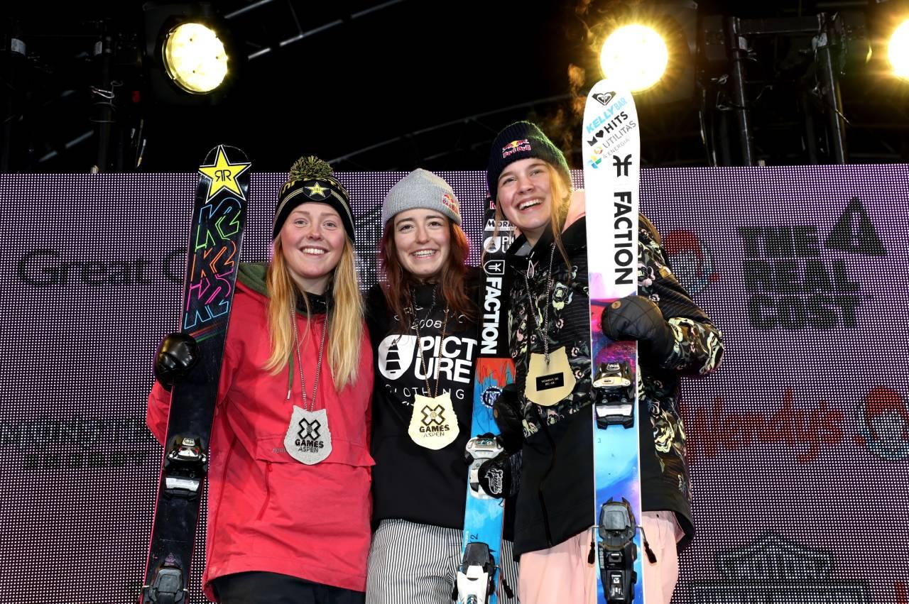 SØLV: Johanne Killi tok sølv i Big Air-finalen. Foto: X Games