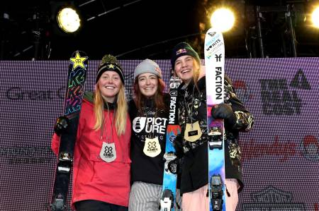 SØLV: Johanne Killi tok sølv i Big Air-finalen. Foto: X Games