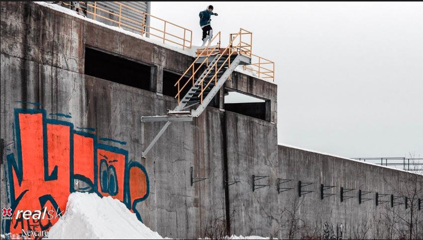 VINNEREN: Phil Casabon har gått større i årets utgave av real ski.