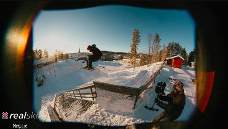 NORGESVENN: Kim Boberg er en av de seks utøveren i årest ski real.