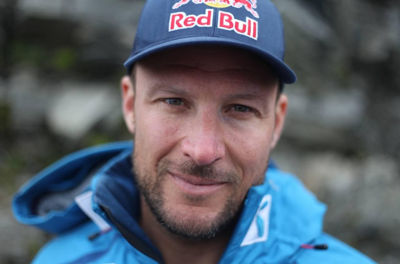 PÅ SKI: Aksel Lund Svindal hadde denne uka sin første skidag etter operasjonen i vinter. Alle bilder: Alexander Urrang Hauge