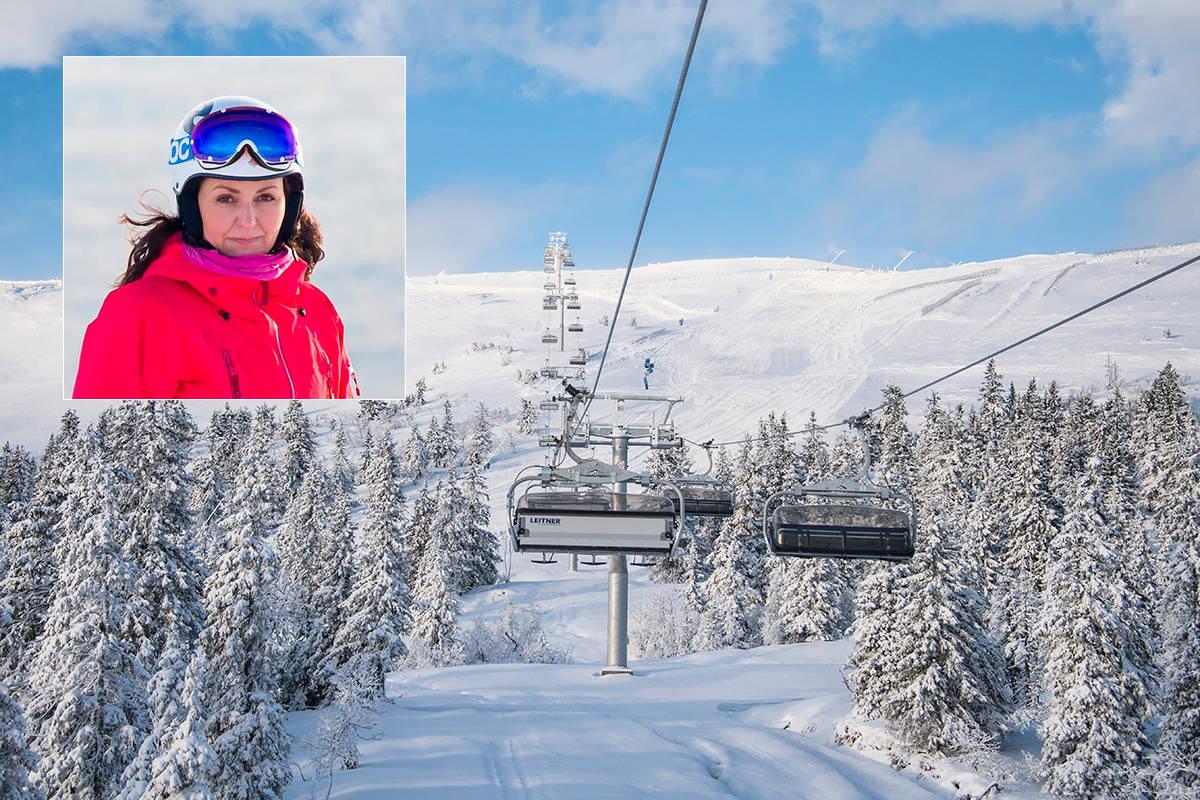 KRISEPAKKE: Alpinbransjen ber regjeringen om krisepakke. Her fra Trysil - som nå har stengt ut sesongen. Foto: Ola Matsson / ALF