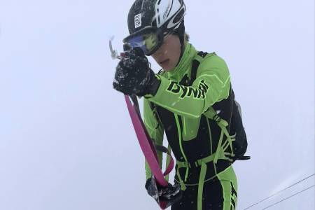 Trym Dalset Lødøen er en av to norske utøvere som skal delta i randonee under ungdoms-OL 2020. Foto: Ola Hovdenak