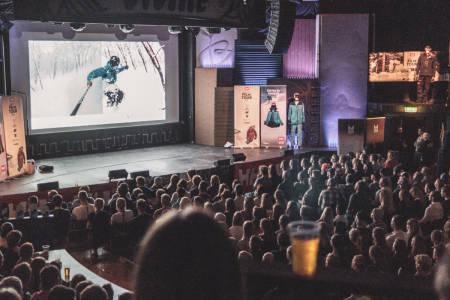 FILM TOUR: Slik så det ut da Film Tour var i Trondheim denne uken. Foto: Petter Westgaard