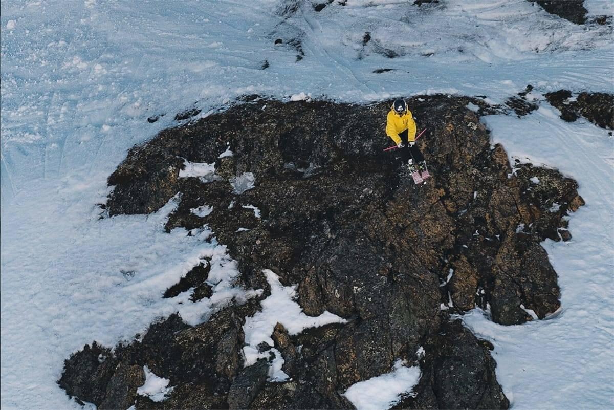 NY SEIER: Hedvig Wessel vant sin tredje seier i Scandinavian Big Mountain Championships (SBMC) i Riksgränsen. Arkivfoto: Anton Erlov