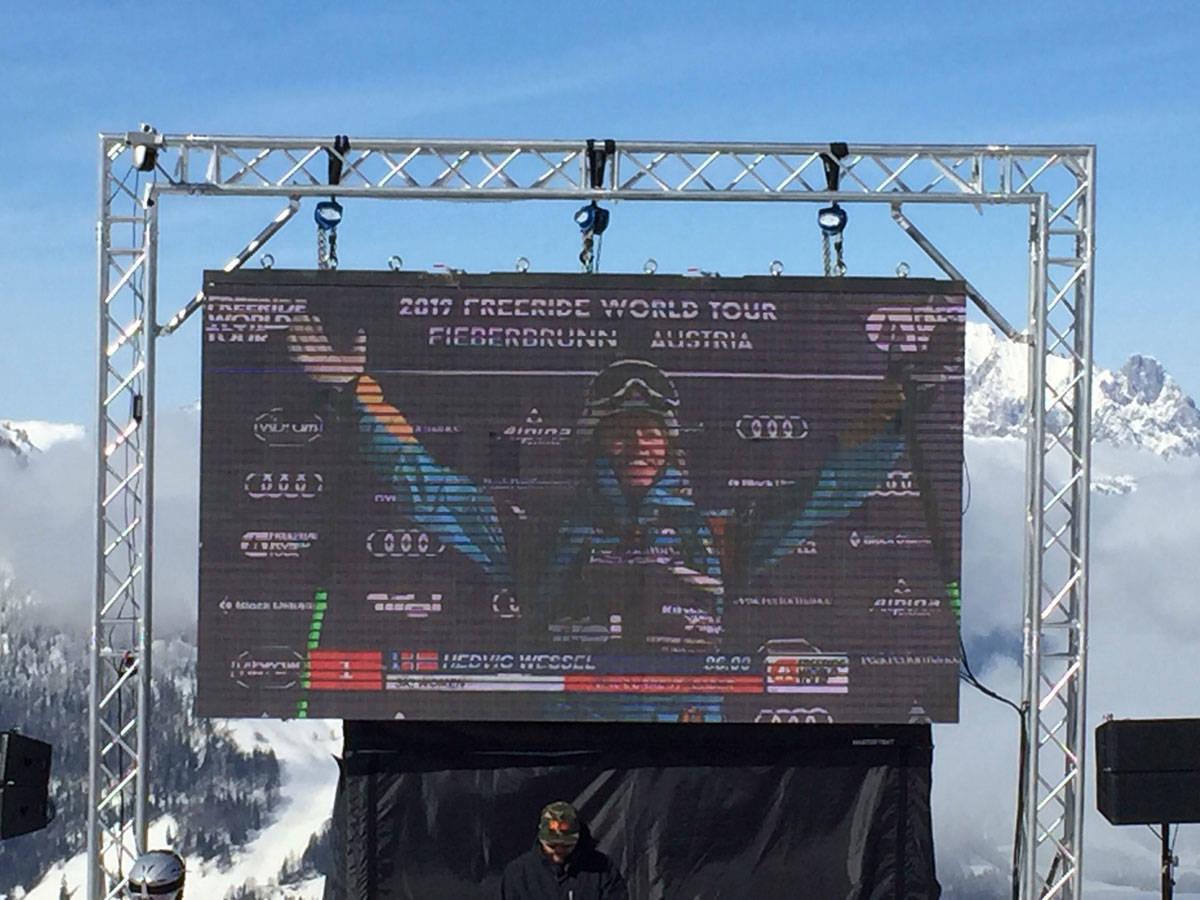 SEIER: Hedvig Wessel vant dagens FWT-runde i Fieberbrunn! Foto: Tore Meirik