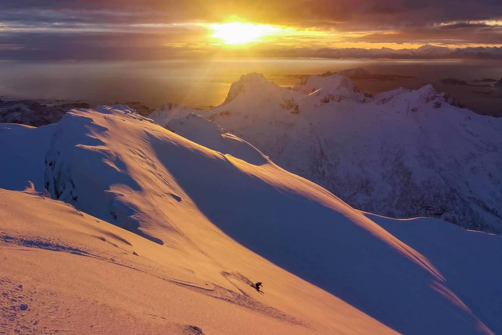LOFOTEN: Signar Nilsen leverer dette fantastiske bildet fra Lofoten. Foto: Signar Nilsen