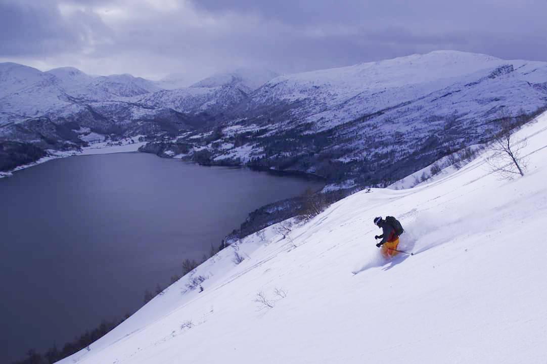 SUNNFJORD-POW: Fine forhold i Sunnfjord sist helg! Foto: Brit Siv Fimland