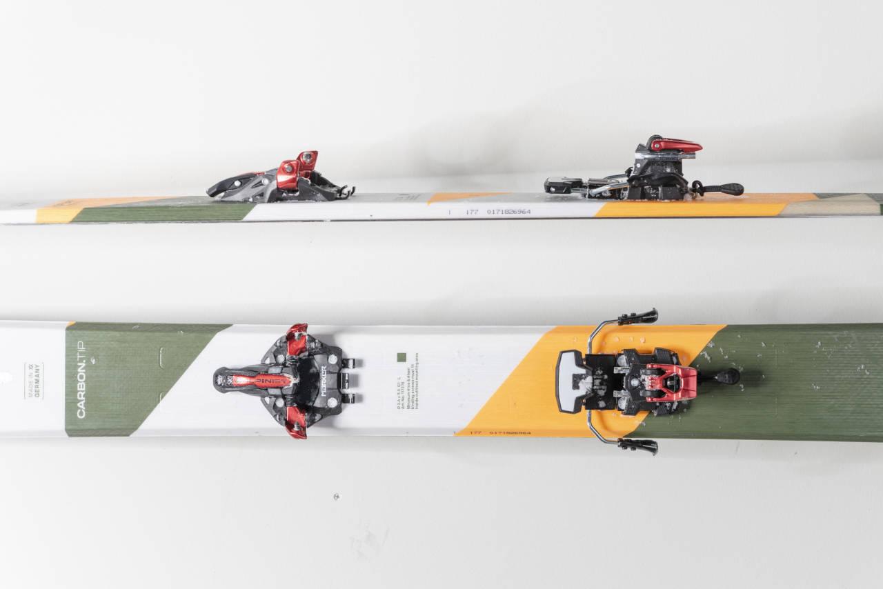 PREMIE: Du kan nå vinne denne bindingen - en Marker Alpinist. Foto: Martin I. Dalen