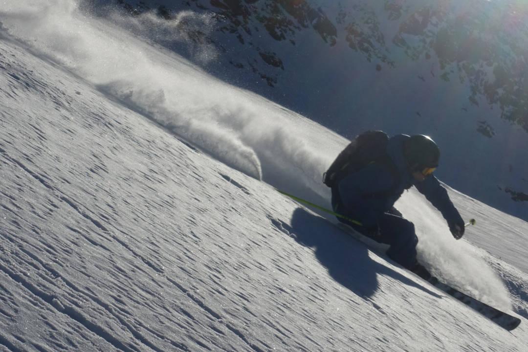 I ALPENE: Anders Backe fant fin frikjøring i Alpene. Foto: Privat