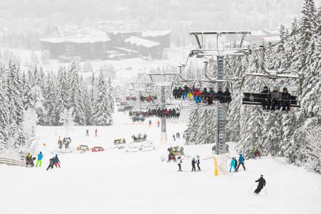 NYSNØ: Trysil har fått et solid påfyll av snø denne uken. Foto: Ola Matsson