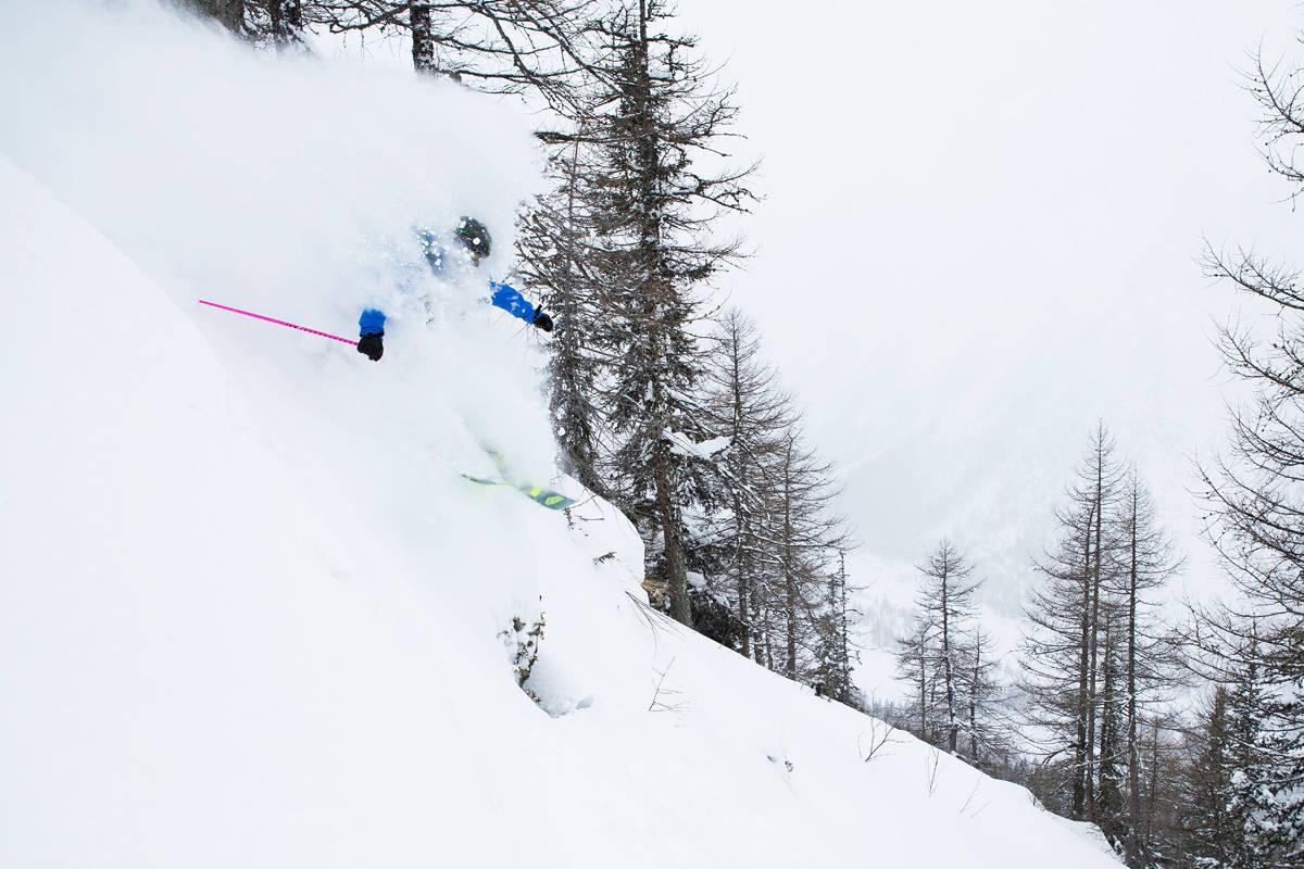 Pudder i Alpene