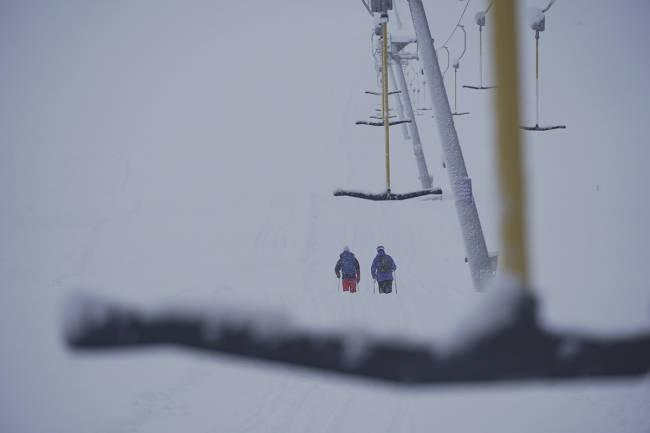 Myrkdalen snør ned - åpner på lørdag