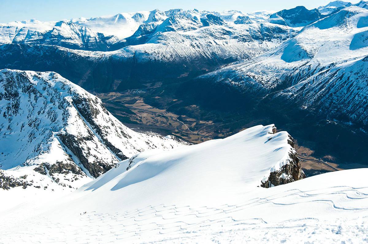 DOBBELT OPP: Stor interesse og nytt festivalområde gjør at Sunndal Ski Session utvider fra en til to festivaler i vinter. Foto: Arild Bjerkan