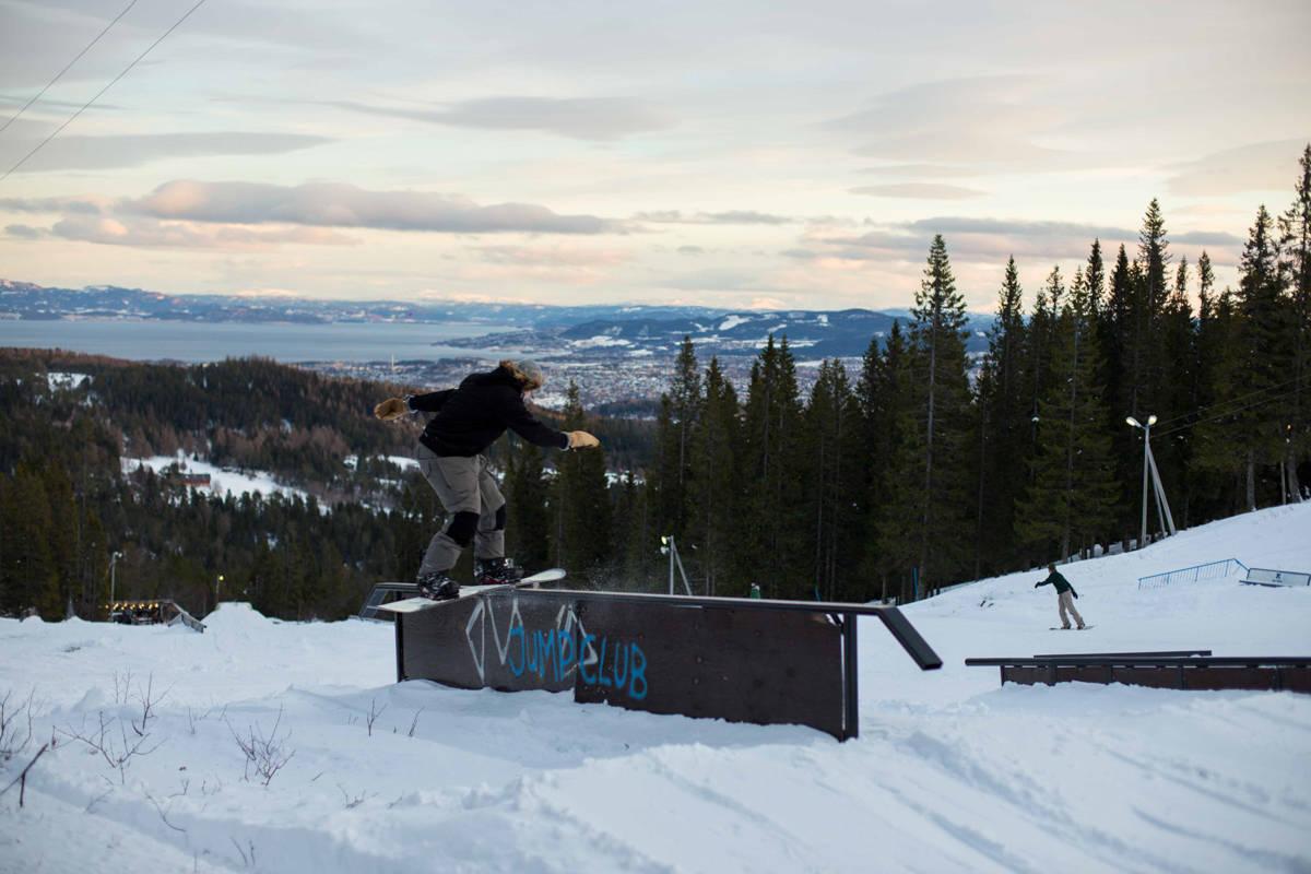 SESONGÅPNET: Nå har Gråkallparken åpnet for sesongen. Foto: Sigurd Vaagland