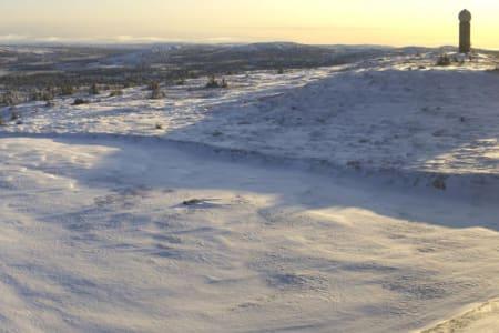 HAFJELL: Sjekk snøen som har kommet på Hafjell denne uken. Foto: Alpinco