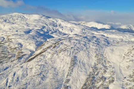 SESONGÅPNER: Slik ser det ut i Sogndal skisenter mandag denne uken. Foto: Håvard Nesbø