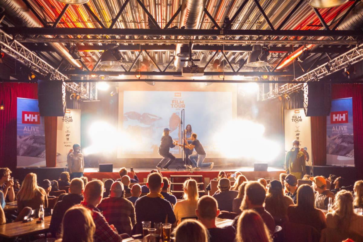 FILM TOUR: Se flere bilder fra Film Tour i galleriet. Foto: Petter Westgaard