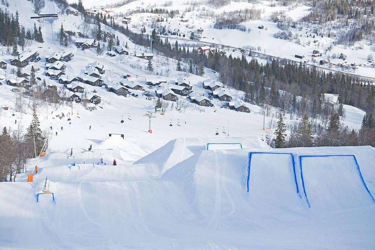 VIL HA BEDRE PARKER: Parkguiden skal gjøre parkene i Norge bedre. Her fra Hemsedal. Foto: Hemsedal Skisenter