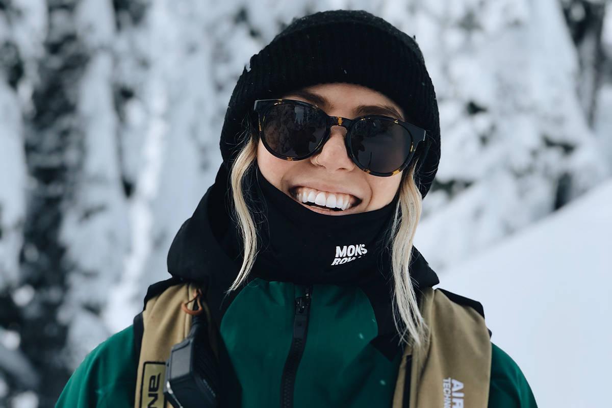 MSP: Tonje Kvivik fra Kristiansand blir skifilmstjerne i MSPs nye film. Foto: Privat