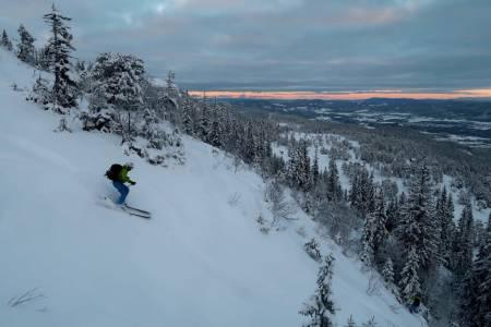 GARANTI: Vassfjellet får ta et kommunalt lån for å utvikle skianlegget. Foto: Bård Smestad