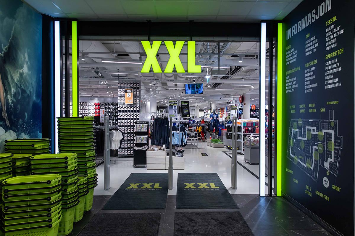 TØMMER LAGERET: XXL skal tømme varelageret for skiutstyr. Foto: XXL