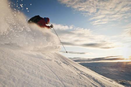 Benjamin Hjort tok dette bildet av Vivi Sponland i Voss. Bildet stod på trykk i Fri Flyt nummer 71.