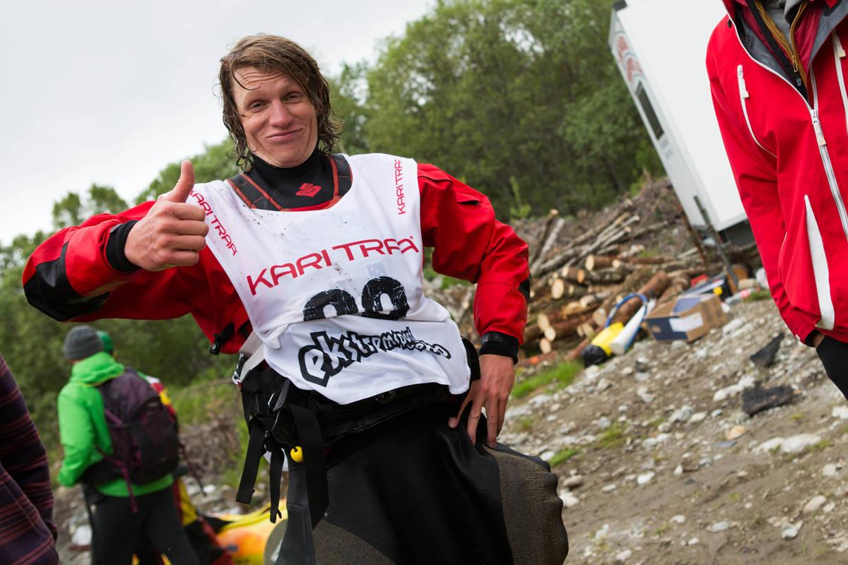 Evan Garcia er godt fornøyd med det Norge har å by på. Foto: Tore Meirik