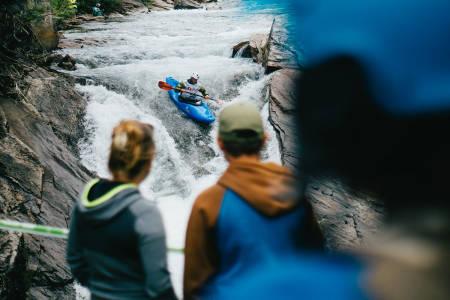 EUROPAMESTERSKAP: Europas beste i bratt elvepadling skal kåres under Ekstremsportveko på Voss. Foto: Brynjar Tvedt